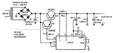 schematic diagram of regulated power supply simple 8 regulated power supply circuit diagram