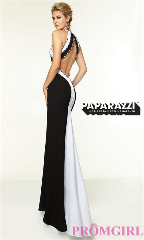 black and white formal dresses kzdress