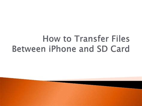 auto file move how to move files between ftp and dropbox how to transfer files between iphone and sd card