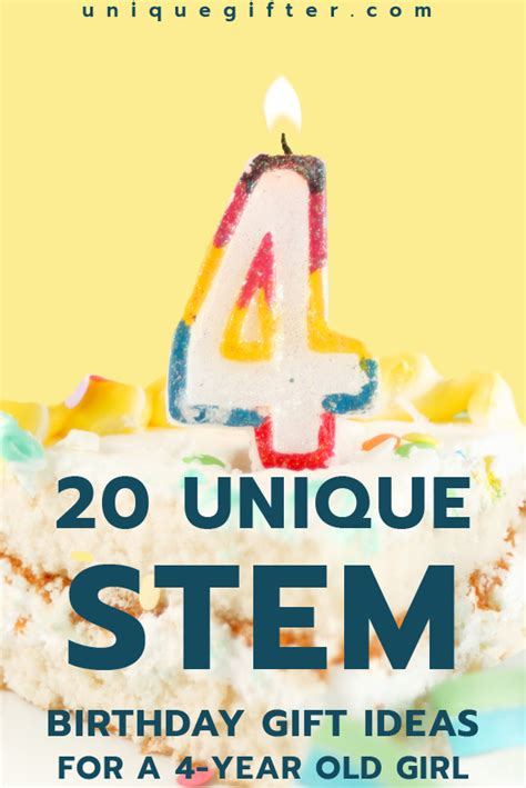gift ideas for under 4 year old 20 stem birthday gift ideas for a 4 year unique gifter