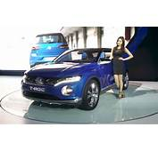 VW T ROC Compact Crossover  2015 Seoul Live