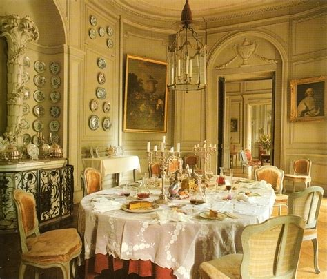 French Country Style Homes Interior Chateau De Montgeoffroy J Ashbury