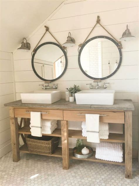 bathroom vanity shelving 34 rustic bathroom vanities and cabinets for a cozy touch
