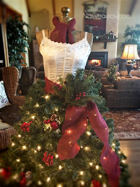 free how to create a dress form christmas tree