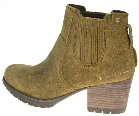 Best Seller Sepatu Caterpilar Low Boots Suede Edition Anida caterpillar allison womens heeled western style slip on ankle boots ebay