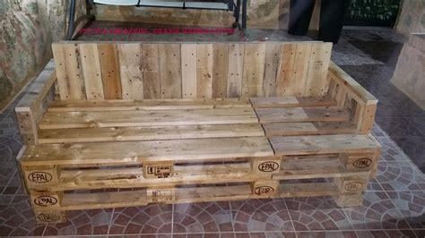 mobili con pedane di legno panche da giardino con pedane epal fatte in casa mobili