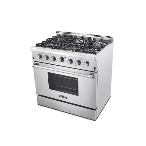 Oven Gas 1 Jutaan thor kitchen 36 in 5 2 cu ft professional gas range in