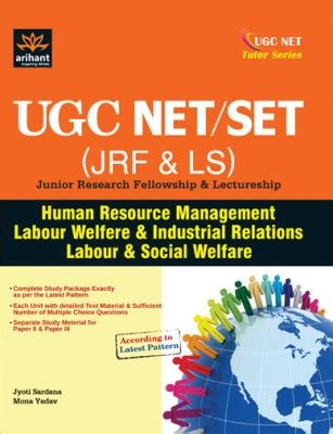 Mba In Personnel Management And Industrial Relations by Ugc Net Set Jrf Ls Junior Research Fellowship