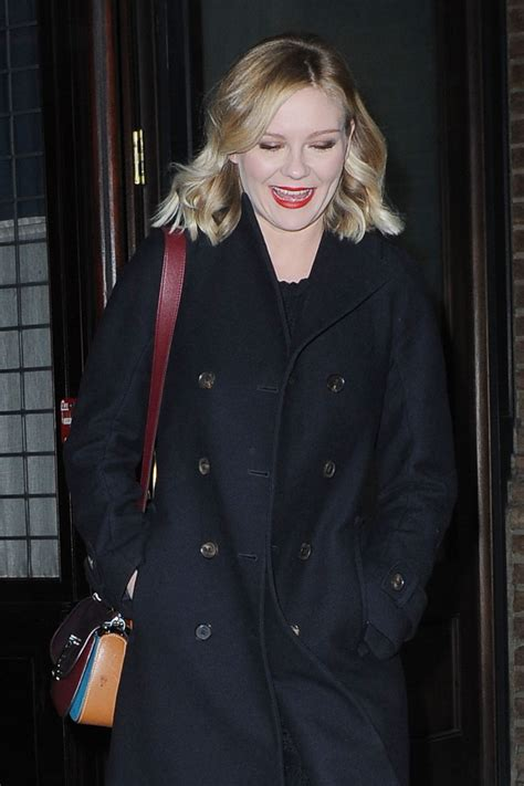 New For Kirsten Dunst Needed by Kirsten Dunst Leaves Hotel In New York 12 11 2015