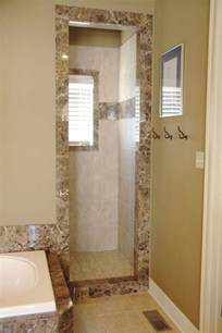 Doorless Showers For Small Bathrooms Doorless Shower Dimensions Studio Design Gallery Best Design