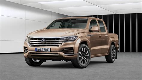 New Volkswagen Amarok 2019 second vw amarok imagined with 2019 touareg styling