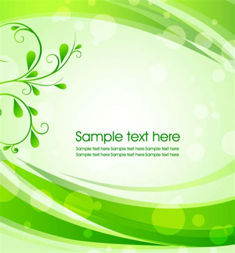 green wallpaper vector free download green background with leaves vector 01 vector background