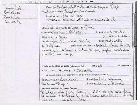 Italian Birth Records Help Translating Italian Birth Records Family History Beginners Board Rootschat