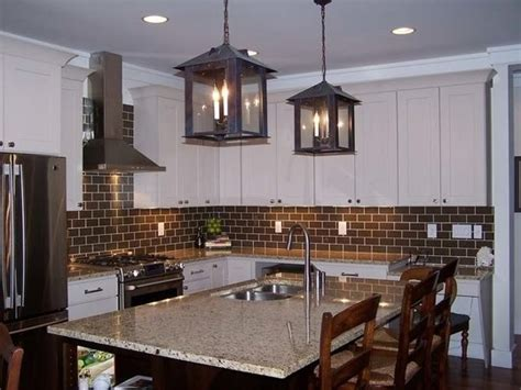 brown subway tile backsplash chocolate brown subway tile for kitchen home envy