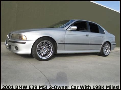 how to sell used cars 2001 bmw m5 parental controls sell used 2001 bmw e39 m5 400 horsepowerv8 6 speed perhaps the best value m5 on ebay in