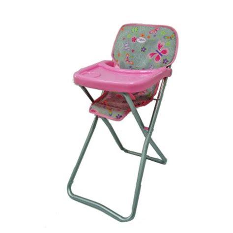 chaise haute pour poupee chaise haute pour poup 233 e calinou magasin de jouets pour