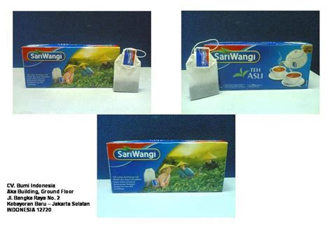 Teh Sariwangi 1 Pack snacks