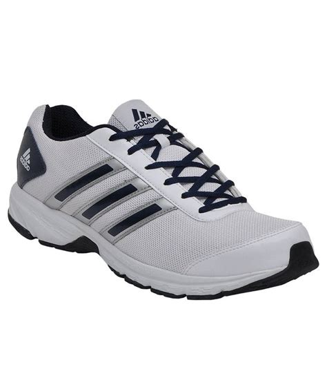 adida sports shoes adidas white running sport shoes price in india buy