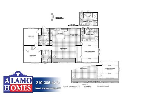 new orleans floor plans clayton schult new orleans 3 bed 2 bath mobile home for sale