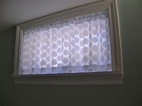 Basement Window Curtain Craft Ideas Pinterest Basement Curtain Ideas
