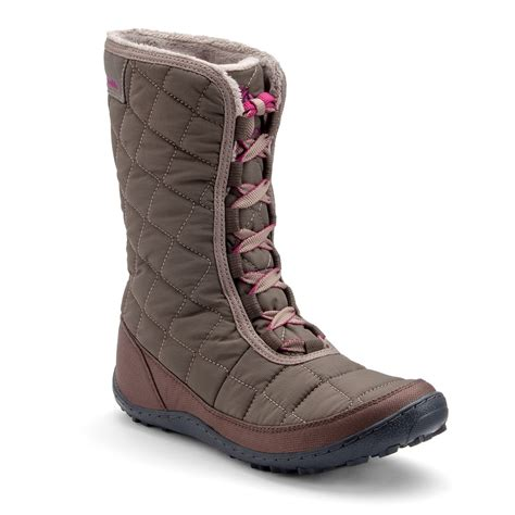kohls boots columbia mid city s waterproof winter boots