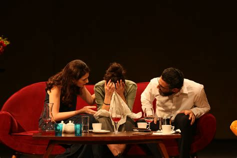 to play at a dinner dinner with friends a play directed by carlos chahine