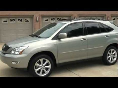 2008 lexus rx350 suv bamboo pearl heated seats for sale