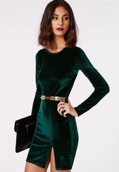 Get A Tone Green Dress Like Garners From Appearance On Letterman by Best 25 Green Velvet Dress Ideas On Velvet