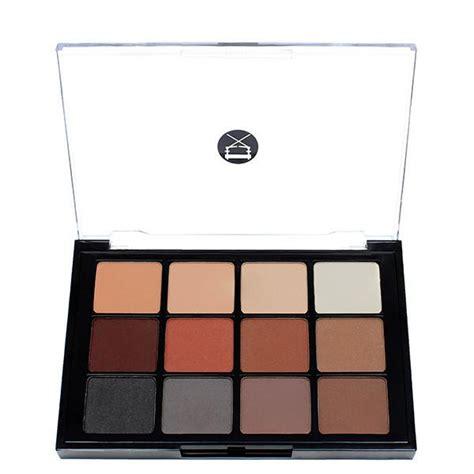 Dijamin La Colors Matte Eyeshadow Suede viseart 12 color eyeshadow palette 01 matte ready cosmetics