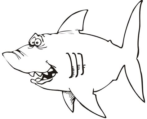55 shark shape templates crafts colouring pages free