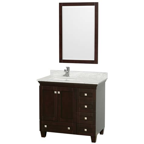 36 x 22 bathroom vanity shop wyndham collection acclaim espresso undermount single