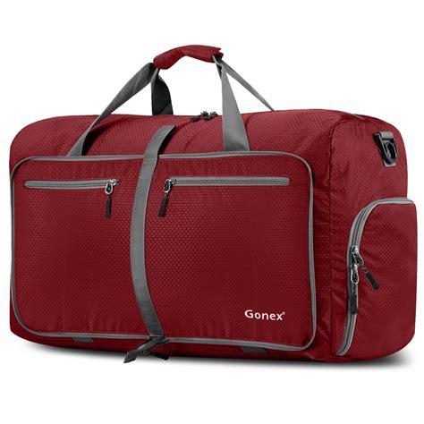 Travel Bag 10 colors gonex 60l foldable travel luggage duffel bag water tear resistant ebay