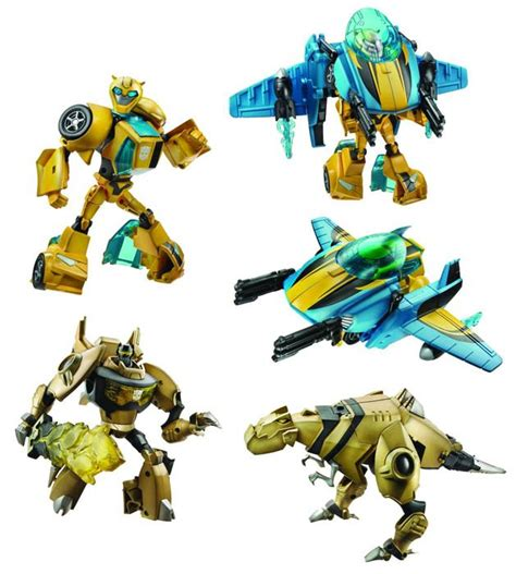 animated voyagers hydrodive bumblebee golfire grimlock