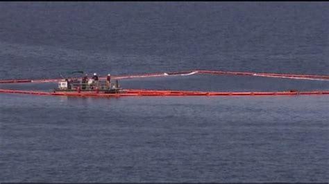 deep sea fishing boat sank sunken fishing boat is leaking fuel endangering marine