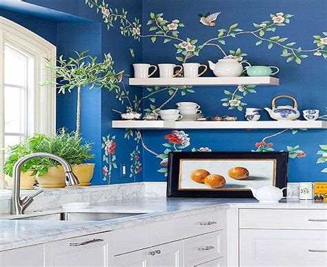 kitchen decorating ideas vinyl wallpaper for the kitchen 18 creative kitchen wallpaper ideas ultimate home ideas
