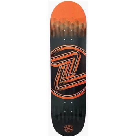 z flex skateboard deck logo deck orange 8 0 made in usa