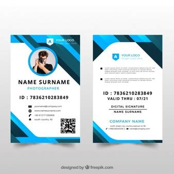 free vector id card template id card vectors photos and psd files free