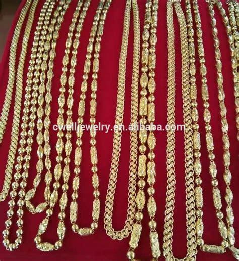 Kalung Pria Rantai Titanium Emas Putih Terbaru Necklace Chain Silver desain baru pria emas putih rantai kalung model baru