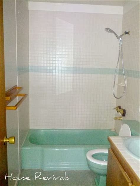 blue bathroom fixtures so in a nutshell here is how you make your dated and