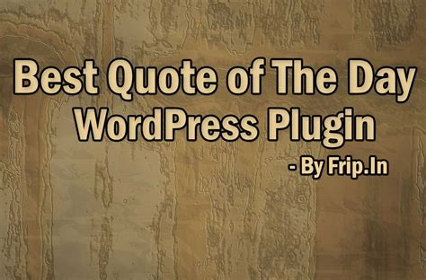 12 best quote of the day plugin widget free