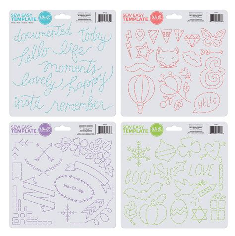 Sew Easy Templates sew easy templates we r memory keepers