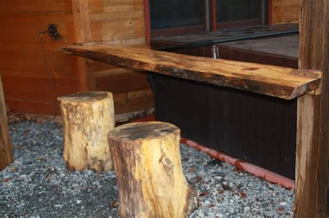 tree trunk bar top 17 best images about specialty projects by a j cabin care on