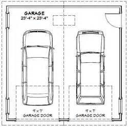 Size Of A Two Car Garage | 28 one car garage dimensions average double garage