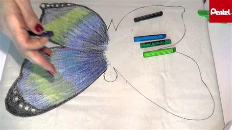con un cuscino come decorare un cuscino in tessuto con i pastelli pentel