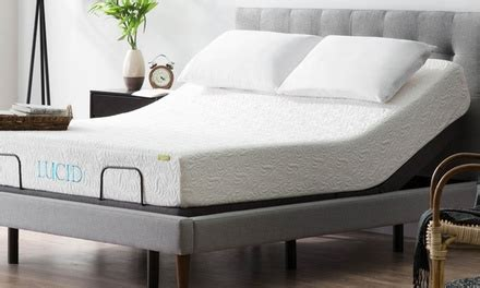 up to 19 on lucid l300 adjustable bed base groupon goods