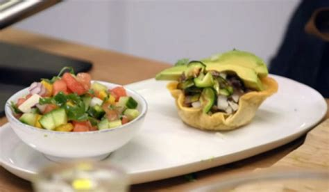 Goop Detox Weight Loss by Stacie Stewart Courgette Tacos With Mango And Melon Salsa