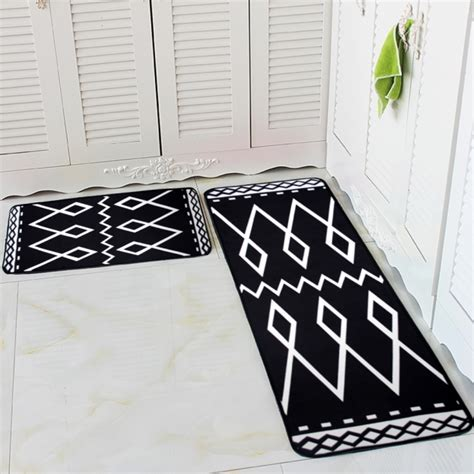 black and white kitchen rugs black and white kitchen rug rugs design