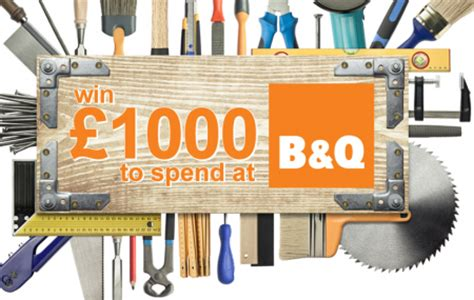 B And Q Gift Card - win 163 1 000 b q gift card free stuff finder uk