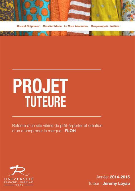 dossier page de garde projet tuteur 233 portfolio