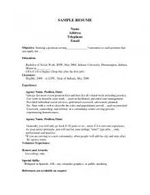resume tips for manager social work intern resume